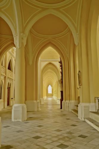 Kutná Hora - Sedlec - katedrála Nanebevzetí Panny Marie a sv. Kříže