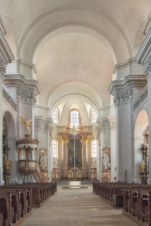 Chrám Nalezení sv.Kříže Litomyšl