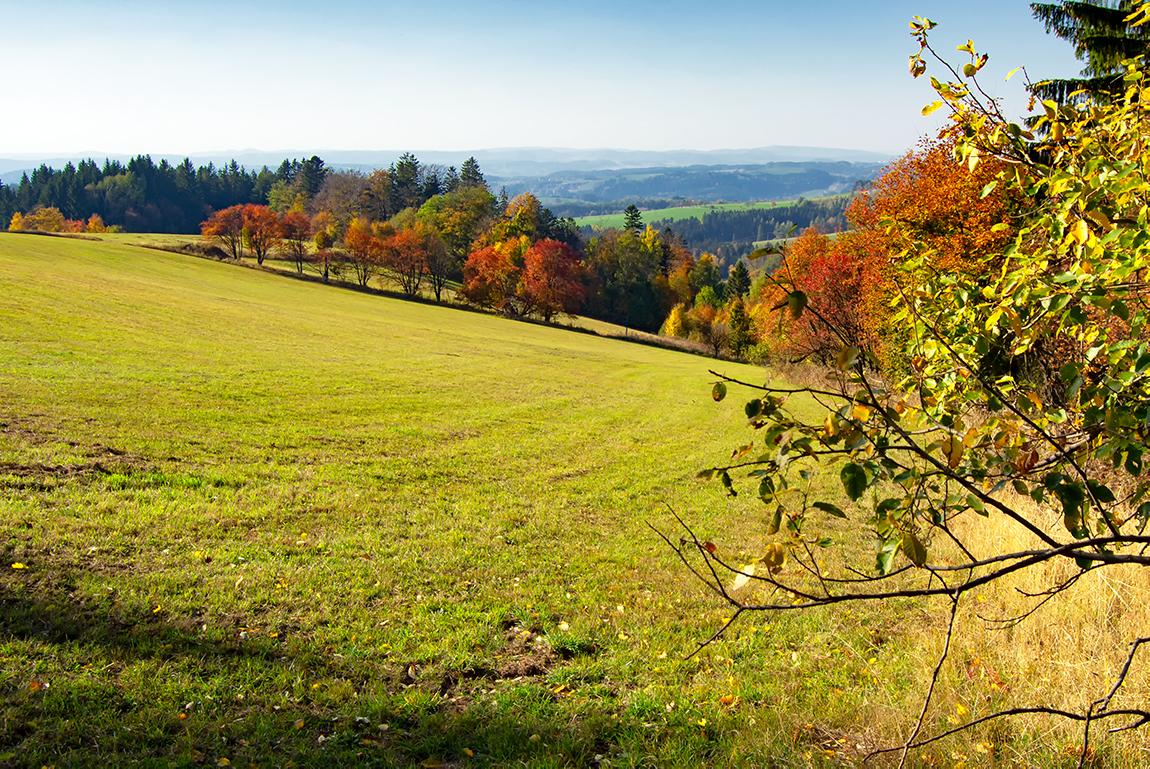 """Barevný podzim """"za humny"""" …"""